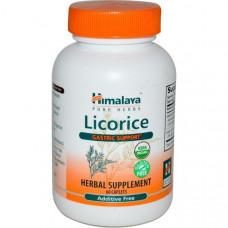 Himalaya Herbal Healthcare, Солодка, Желудочная поддержка 60 капсул