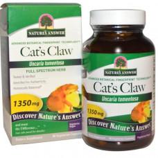 Natures Answer, Ункария опушенная, 1350 мг, 90 растительных капсул