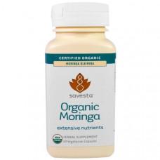 Savesta, Органическая моринга, 60 капсул в растительной оболочке