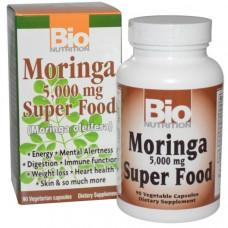 Bio Nutrition, Суперпродукт Моринга, 5000 мг, 90 растительных капсул