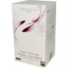 Hampstead Tea, Organic Fairtrade Fennel Liquorice, , 20 Sachets,1.06 oz (30 g)
