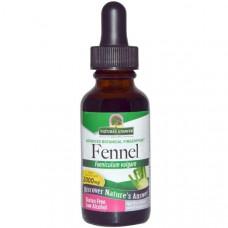 Natures Answer, Фенхель, с низким содержанием спирта, 2000 мг, 1 жидкая унция (30 мл)