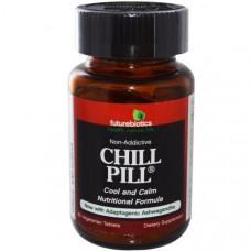 FutureBiotics, Пищевая добавка Chill Pill, 60 растительных таблеток