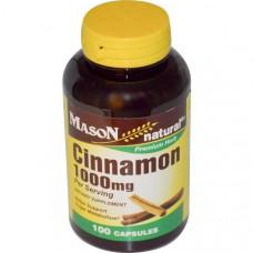 Mason Naturals, Корица, 1000 мг, 100 капсул