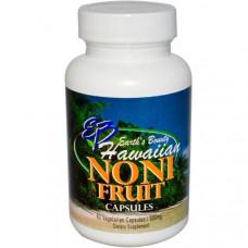 Earths Bounty, Плоды гавайского нони, 500 мг, 60 растительных капсул