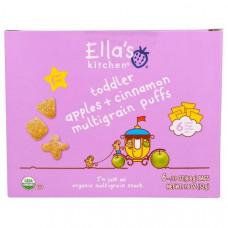 Ellas Kitchen, Воздушные мультизерновые подушечки для малышей со вкусом яблока и корицы, 6 пакетиков по 0,31 унции (8,8 г)