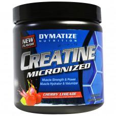 Dymatize Nutrition, Креатин микронизированный, вишневый лаймад, 10,6 унций (300 г)