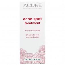 Acure Organics, Средство для Лечения Следов от Акне, 0,5 жидких унций (14,7 мл)