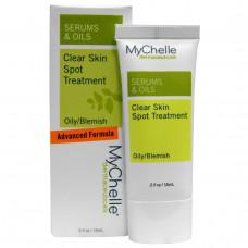 MyChelle Dermaceuticals, Сыворотки & масла, Чистая кожа Средство от угрей, Для жирной кожи/с несовершенствами, ,5 унции (15 мл)