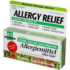 Boericke & Tafel, Противоаллергическое средство, Allergiemittel AllerAide, 40 таблеток