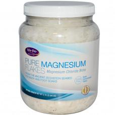 Life Flo Health, Хлопья чистого магния, хлормагниевый рассол, 2.75 фунтов (44 унции)