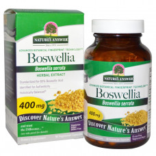 Natures Answer, Босвеллия (Boswellia), 400 мг, 90 вегетарианских капсул