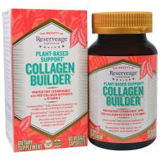 ReserveAge Nutrition, Средство на растительной основе для выработки коллагена, 60 капсул в растительной оболочке