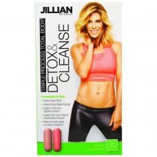 Jillian Michaels, Детокс и чистка, тройной процесс для всего тела, пищевая добавка для чистки организма, 35 капсул