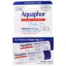 Aquaphor, Лечебная детская мазь, 2 упаковки по 0.35 унций (10 г)