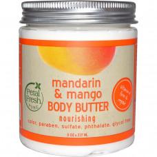 Petal Fresh, Масло для тела, питательное, мандарин и манго, 8 унций (237 мл)