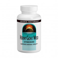 Source Naturals, Горянка крупноцветковая (Эпимедиум), 1000 мг, 60 таблеток