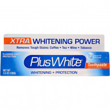Plus White, Отбеливающая паста Экстра Плюс, предотвращающая образование зубного камня, прохладный и свежий аромат мяты, 3,5 унции (100 г)