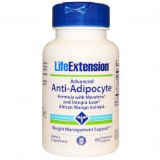 Life Extension, Усиленная анти-адипоцитная добавка, 60 Капсул