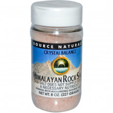 Source Naturals, Гималайская каменная соль, 8 унций (227 г)