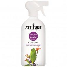 ATTITUDE, Чистящее средство для ванной комнаты, цитрусовая цедра, 27,1 жидкой унции (800 мл)