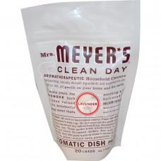 Mrs. Meyers Clean Day, Автоматические упаковки посуды, лавандовый аромат, 12,7 унций (360 г)