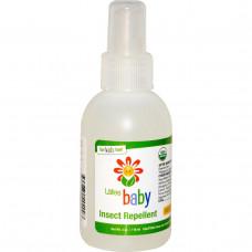 Lafes Natural Body Care, Детское средство от насекомых, 4 унции (118 мл)
