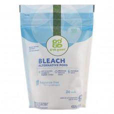 GrabGreen, Отбеливающие альтернативные бобы, без ароматизаторов, 24 упаковки, 15,2 унций (432 г)