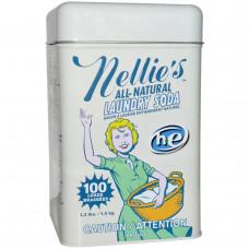 Nellies All-Natural, Сода для стирки, 100 загрузок, 3,3 фунта (1,5 кг)