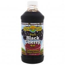 Dynamic Health Laboratories, Чистый концентрированный сок черной вишни, 16 жидких унций (473 мл)