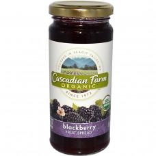 Cascadian Farm, Органическое варенье из ежевики 10 унции (284 г)