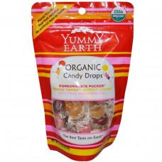 YumEarth, Натуральные конфеты-драже, 4 вида вкусов, 3.3 унции (93.5 г)