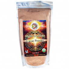 Earth Circle Organics, Какао- порошок, органическое, Эквадор, 16 унций (454 гр)
