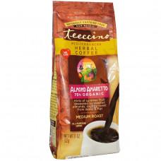 Teeccino, Средиземноморский травяной кофе, средней обжарки, миндаль — амаретто, без кофеина, 11 унций (312 г)