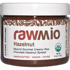 Rawmio, Шоколадная паста с фундуком, 6 унций (170 г)