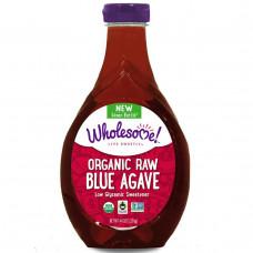 Wholesome Sweeteners, Inc., Сироп из натуральной голубой агавы, 44 унции (1,25 кг)