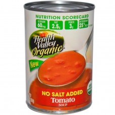 Health Valley, Органический томатный суп, без добавления соли 15 унции (425 г)