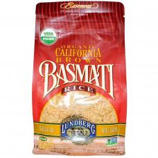 Lundberg, Органический калифорнийский коричневый рис Басмати, 32 унций (907 г)