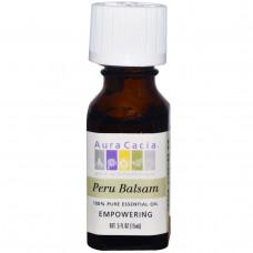 Перуанский бальзам Aura Cacia 100%-ное чистое эфирное масло 15 мл