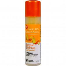 Avalon Organics, Смягчающий бальзам для губ с витамином C, 0,25 унции (7 г)