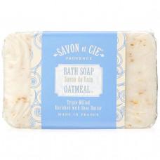 Savon et Cie, Банное мыло, овсяные хлопья, 7 унций (200 г)
