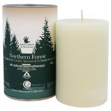 Way Out Wax, Свеча из коллекции Зеленая гора, северный лес, одна свеча 2,75x4