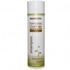 NutriBiotic, Шампунь Everyday Clean, на растительной основе, 10 жидких унций (296 мл)