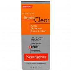 Neutrogena, Быстрая чистка, лосьон для лица от прыщей, 1,7 жидкой унции (50 мл)