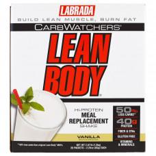 Labrada Nutrition, CarbWatchers Lean Body, Vanilla, 20 Packets, 2.29 oz (65 g) Each