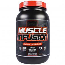 Nutrex Research Labs, Новейшая протеиновая смесь для наращивания мышц, шоколад, 2 фунта (907г)