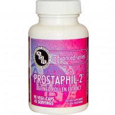 Advanced Orthomolecular Research AOR, Prostaphils-2 передовой серии, 90 капсул на растительной основе