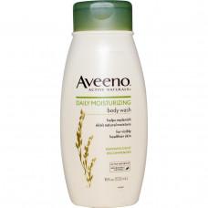 Aveeno, Active Naturals, Увлажняющий гель для душа для ежедневного применения, 18 жидких унций (532 мл)