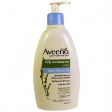 Aveeno, Active Naturals, ежедневный увлажняющий лосьон для тела, без отдушки, 12 жидк. унц. (350 мл)