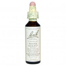Bach, Самобытная цветочная помощь, водяная лилия, 0,7 жидких унции (20 мл)